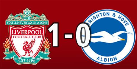 Liverpool 1 Brighton 0 (Aug 25 2018)