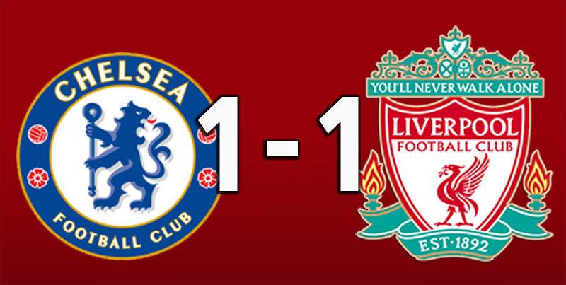 Chelsea 1 Liverpool 1 (Sep 29 2018)
