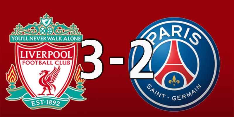 Liverpool 3 PSG 2 (Sep 18 2018)