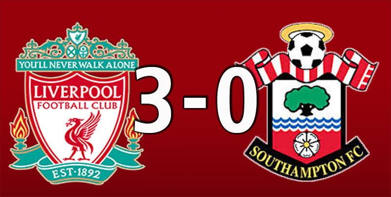 Liverpool 3 Southampton 0 (Sep 22 2018)
