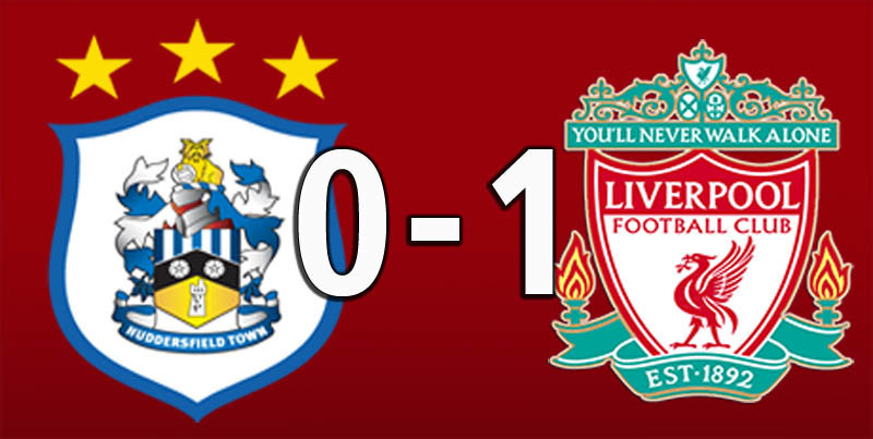 Huddersfield 0 Liverpool 1 (Oct 20 2018)
