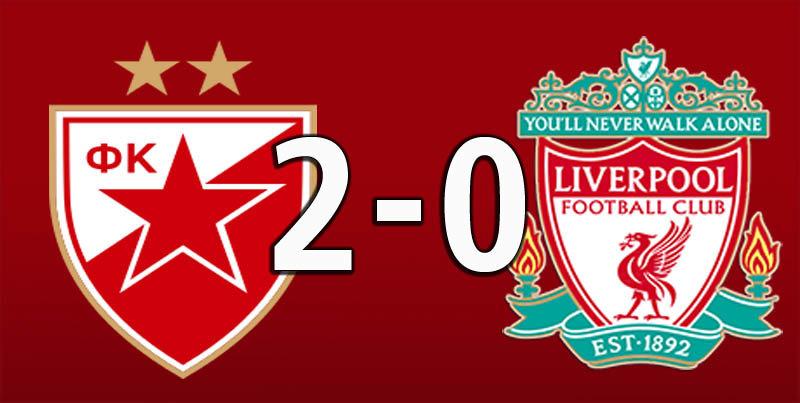 Red Star Belgrade 2 Liverpool 0 (Oct 6 2018)