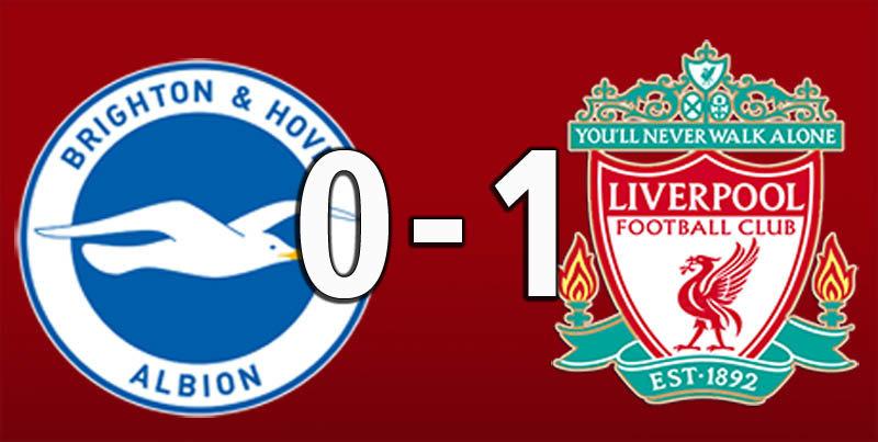 Brighton 0 Liverpool 1 (Jan 12 2019)