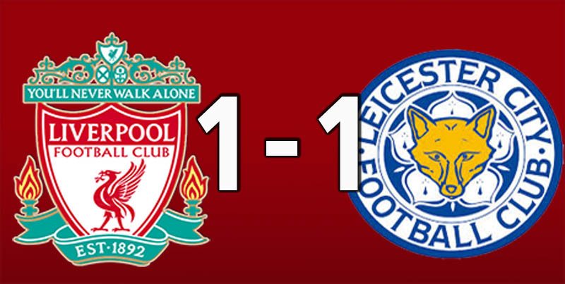 Liverpool 1 Leicester 1 (Jan 30 2019)