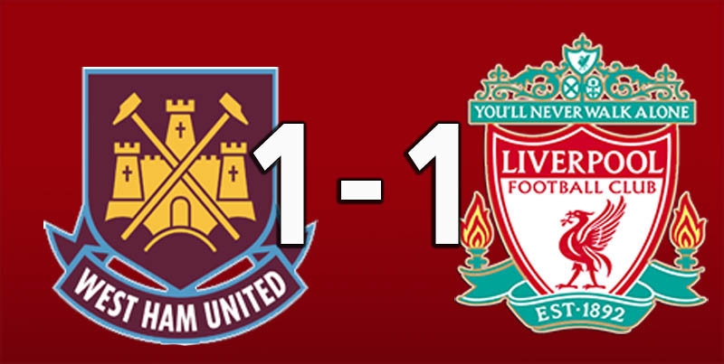 West Ham 1 Liverpool (Feb 4 2019)