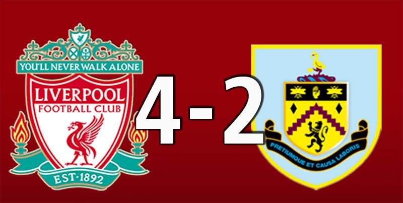 Liverpool 4 Burnley 2 (Mar 10 2019)