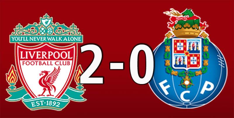 Liverpool 2 FC Porto 0 (April 9 2019)