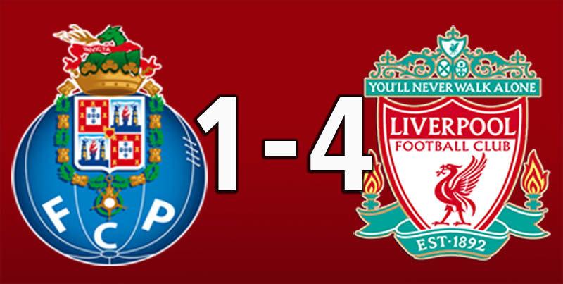 FC Porto 1 Liverpool 4 (Apr 17 2019)