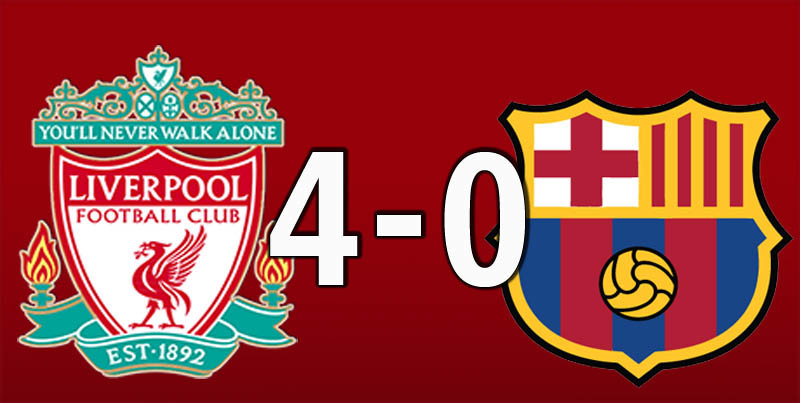 Liverpool 4 Barcelona 0 (May 7 2019)
