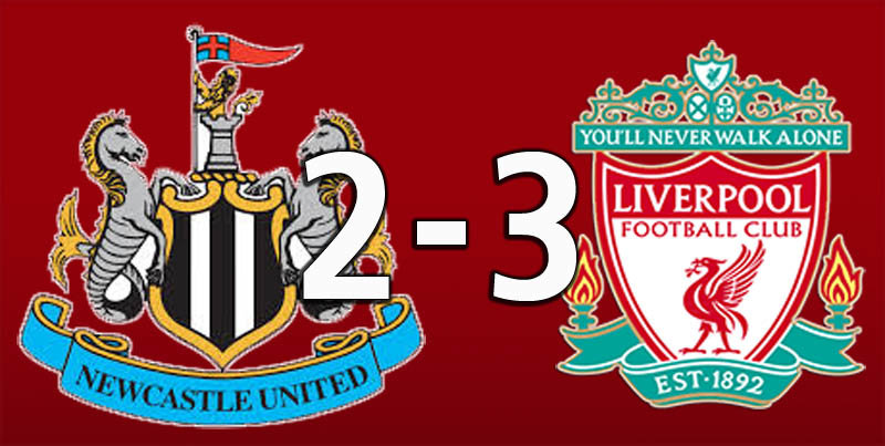 Newcastle 2 Liverpool 3 (May 4 2019)