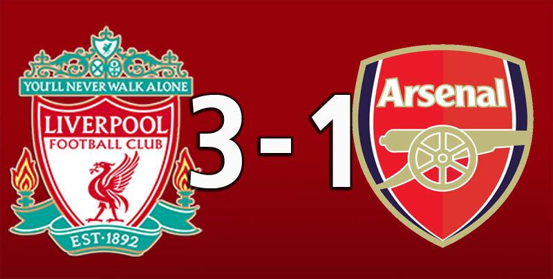 Liverpool 3 Arsenal 1 (Aug 24 2019)