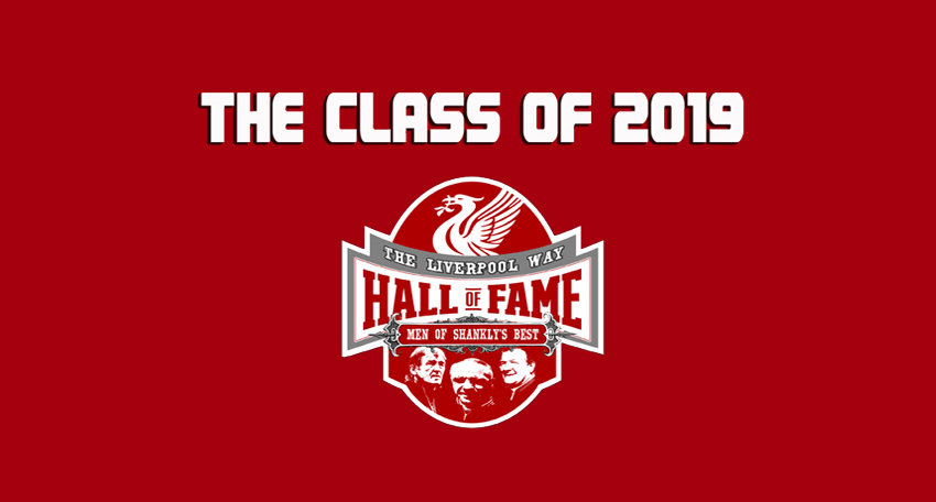 Hall of Fame - Class of 2019 (Results)