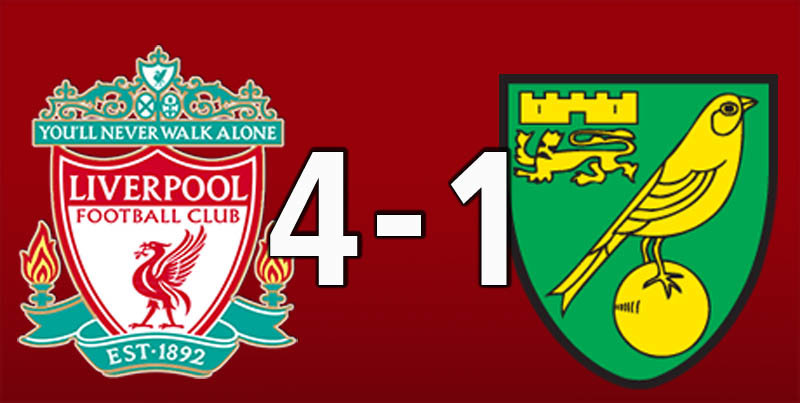 Liverpool 4 Norwich City 1 (Aug 9 2019)