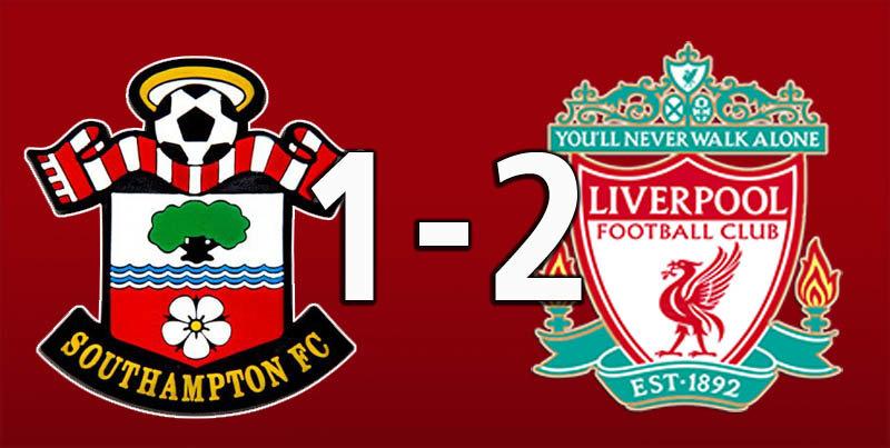 Southampton 1 Liverpool 2 (Aug 17 2019)