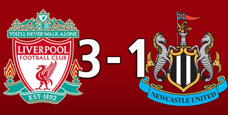 Liverpool 3 Newcastle 1 (Sep 14 2019)