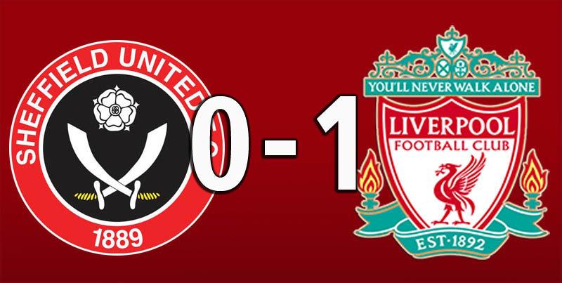 Sheffield United 0 Liverpool 1 (Sep 28 2019)
