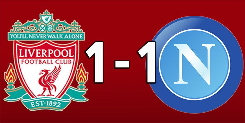 Liverpool 1 Napoli 1 (Nov 27 2019)