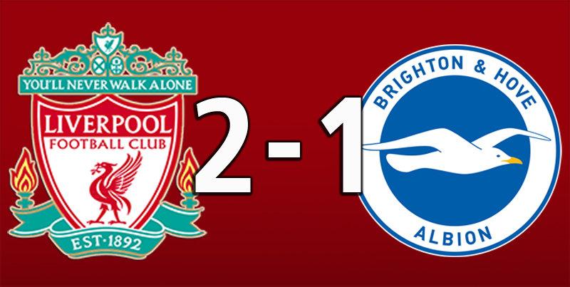 Liverpool 2 Brighton 1 (Nov 30 2019)