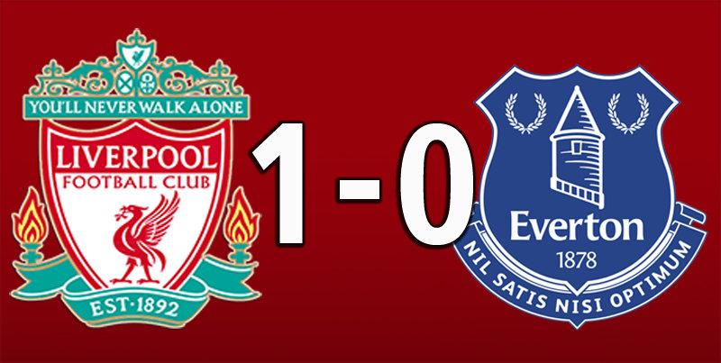 Liverpool 1 Everton 0 (Jan 5 2020)