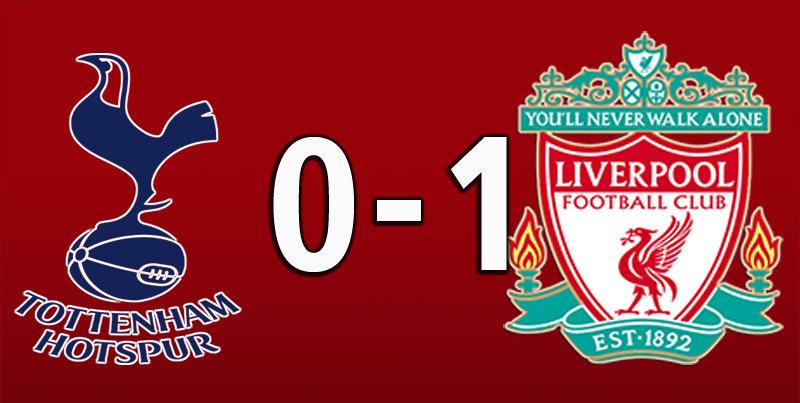 Tottenham 0 Liverpool 1 (Jan 11 2020)