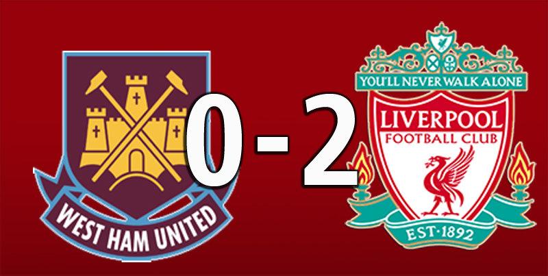 West Ham 0 Liverpool 2 (Jan 29 2020)