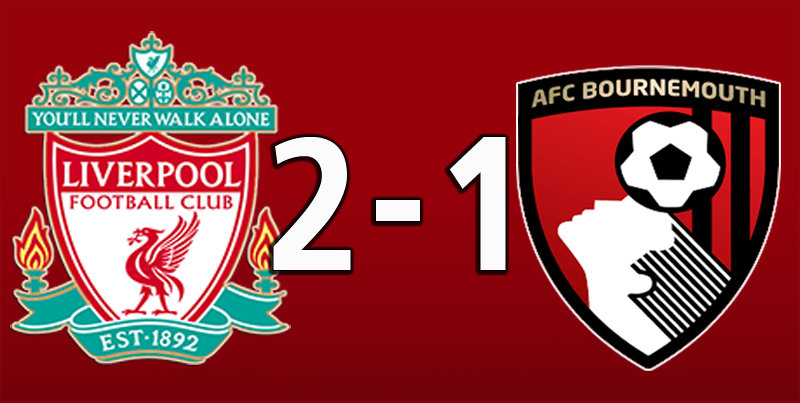 Liverpool 2 Bournemouth 1 (Mar 7 2020)