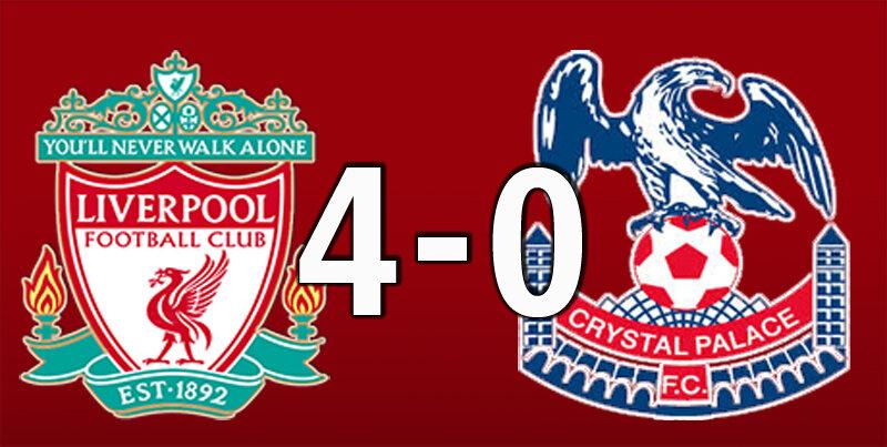 Liverpool 4 Crystal Palace 0 (Jun 24 2020)