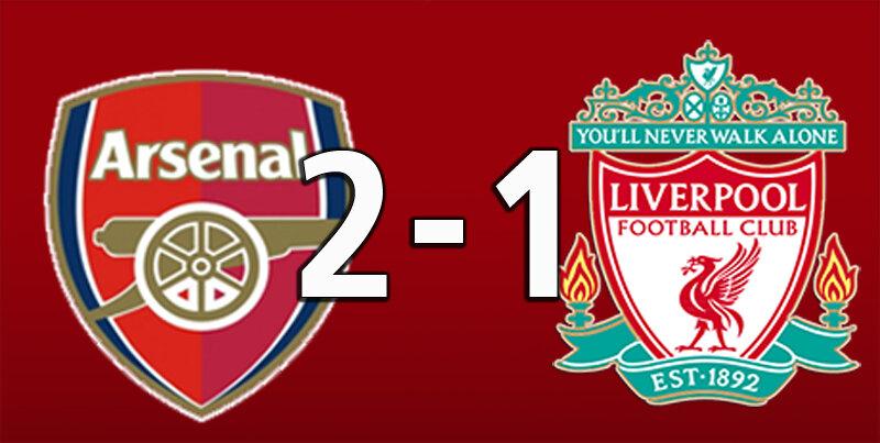 Arsenal 2 Liverpool 1 (Jul 15 2020)