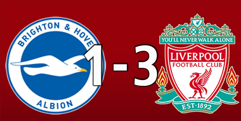 Brighton 1 Liverpool 3 (Jul 8 2020)