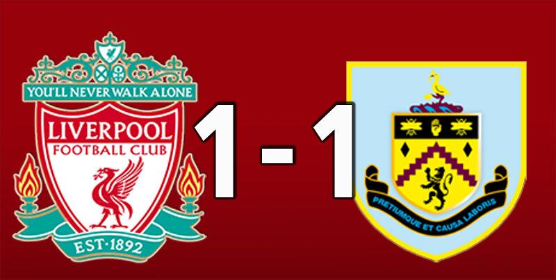 Liverpool 1 Burnley 1 (Jul 11 2020)