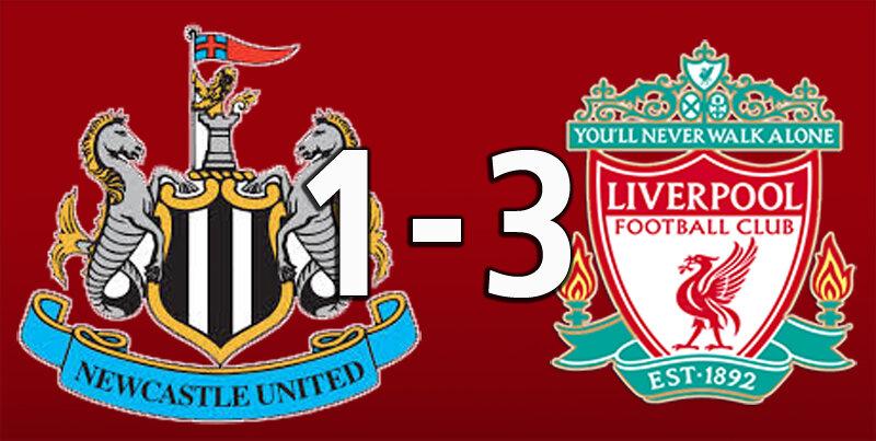 Newcastle 1 Liverpool 3 (Jul 26 2020)