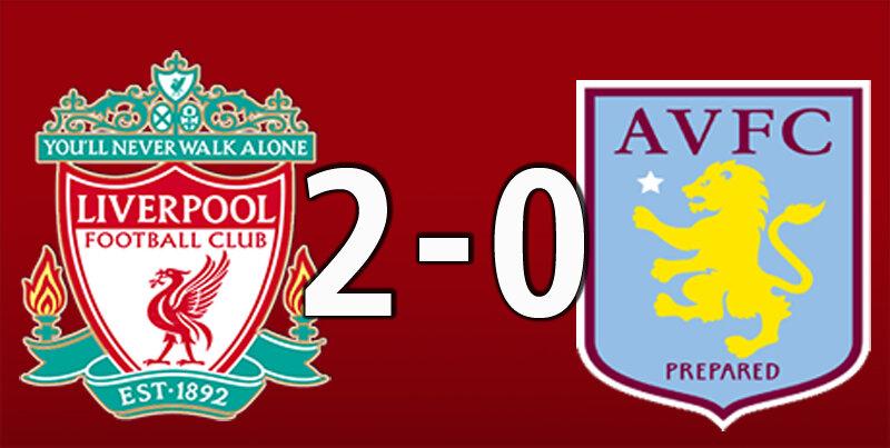 Liverpool 2 Aston Villa 0 (Jul 5 2020)