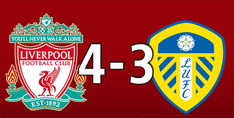 Liverpool 4 Leeds United 3 (Sep 12 2020)