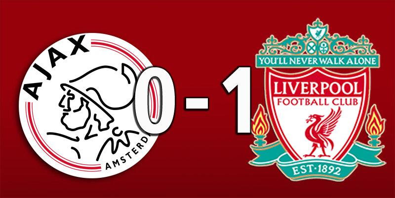 Ajax 0 Liverpool 1 (Oct 22 2020)