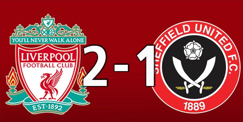 Liverpool 2 Sheffield Utd 1 (Oct 24 2020)