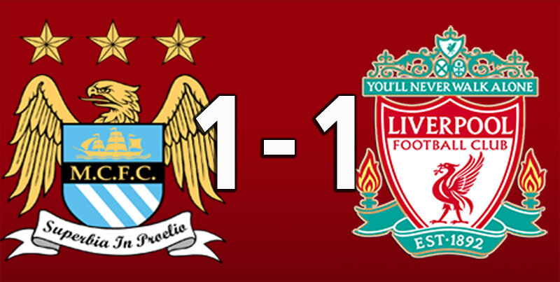 Manchester City 1 Liverpool 1 (Nov 8 2020)
