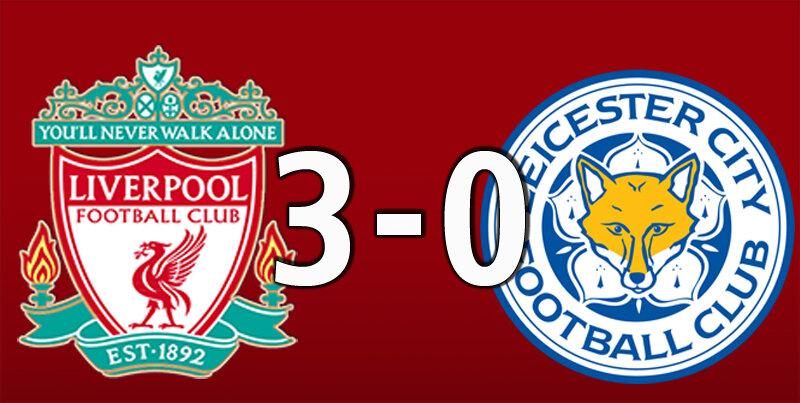 Liverpool 3 Leicester City 0 (Nov 22 2020)