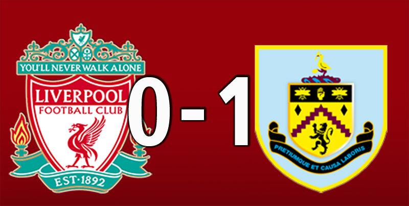 Liverpool 0 Burnley 1 (Jan 22 2021)