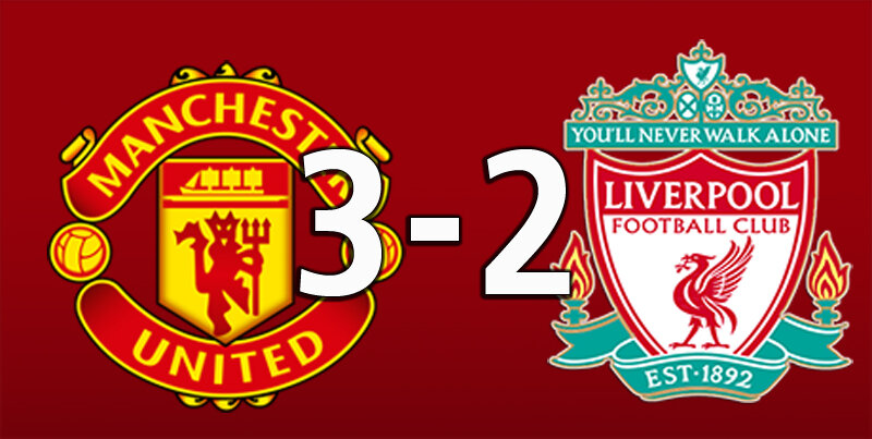 Manchester United 3 Liverpool 2 (Jan 24 2021)
