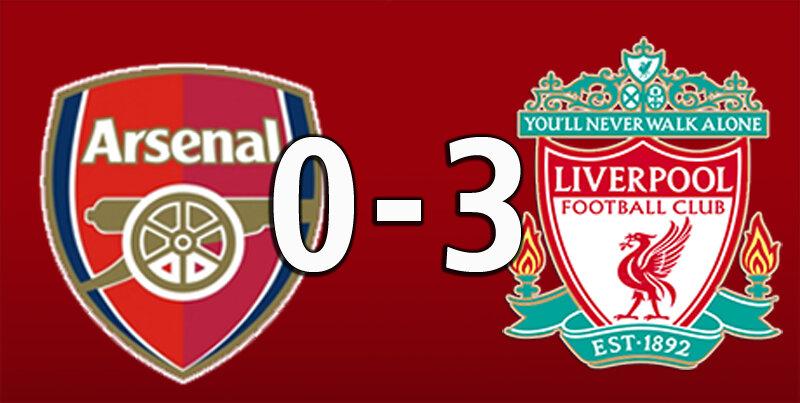 Arsenal 0 Liverpool 3 (April 3 2021)