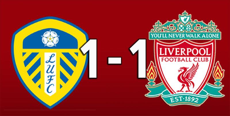 Leeds United 1 Liverpool 1 (Apr 19 2021)