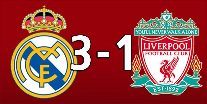 Real Madrid 3 Liverpool 1 (Apr 6 2021)