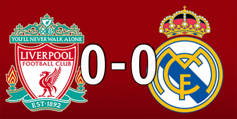Liverpool 0 Real Madrid 0 (Apr 14 2021)