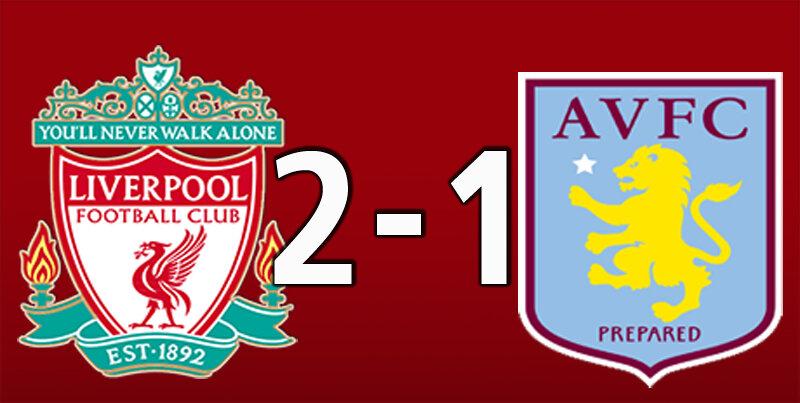 Liverpool 2 Aston Villa 1 (Apr 10 2021)