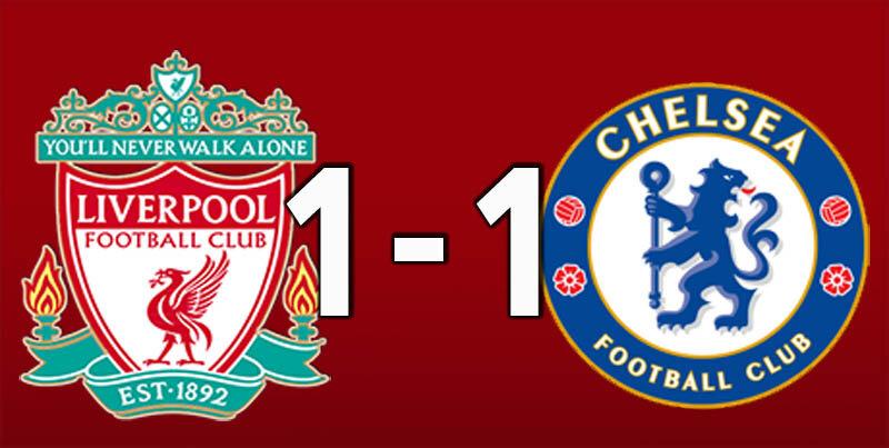 Liverpool 1 Chelsea 1 (Aug 28 2021)