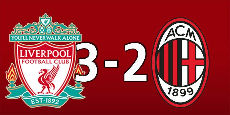 Liverpool 3 AC Milan 2 (Sep 15 2021)