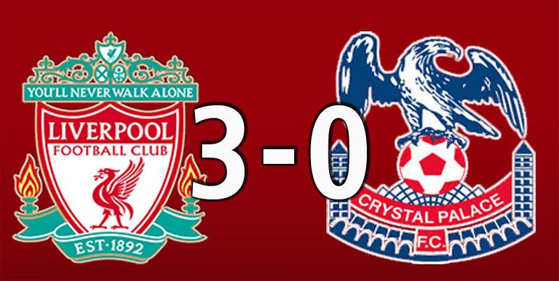 Liverpool 3 Crystal Palace 0 (Sep 18 2021)