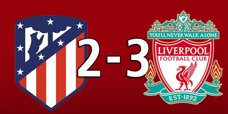 Atletico Madrid 2 Liverpool 3 (Oct 19 2021)