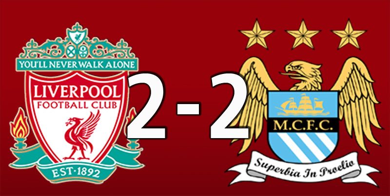 Liverpool 2 Manchester City 2 (Oct 3 2021)
